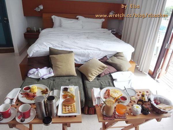【旅遊】泰國華欣。渡假勝地中的飯店首選Let's Sea Resort—早中晚餐