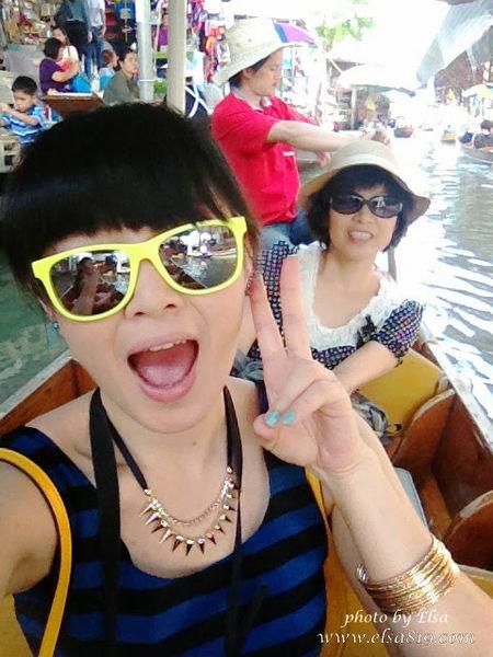【旅遊】泰國曼谷。必去的丹能莎朵水上市場(Damnoen Saduak Floating Market)