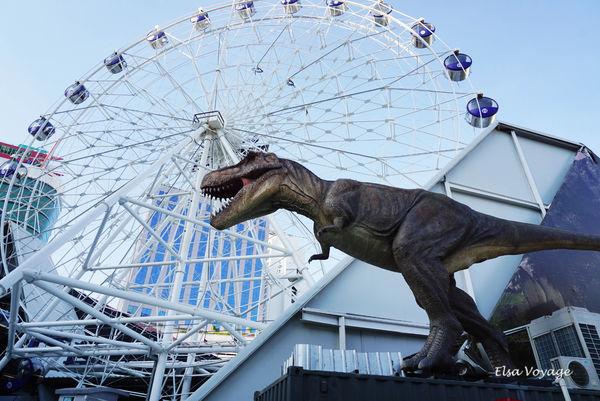【曼谷景點】恐龍星球Dinosaur Planet適合親子自由行的主題樂園(2018.04.20結束營業)