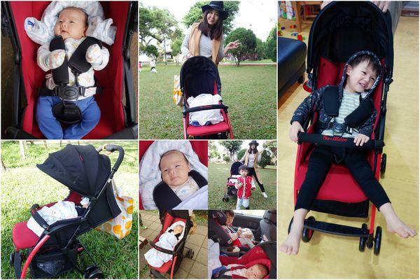 【育兒】Familidoo法國時尚輕便嬰兒車-好推.秒收.置物架大的輕旅行推車