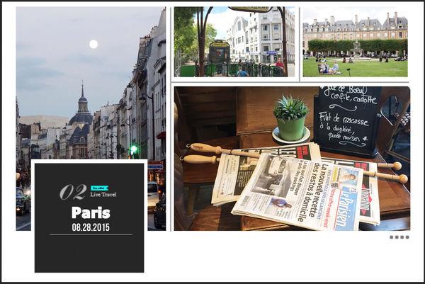 【旅遊】巴黎親子自由行。Day1 長榮飛巴黎、孚日廣場、雨果咖啡、瑪黑散步
