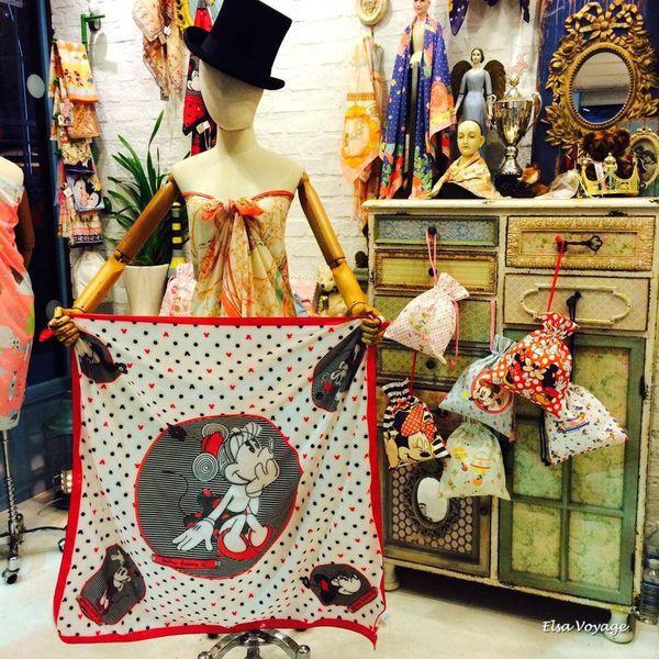 【曼谷購物】泰國品牌Kiss me doll充滿少女心的質感絲巾!