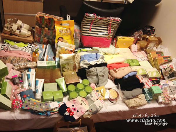 【旅遊】韓國首爾。美妝戰利品大集合&逛逛南大門土產店&機場退稅