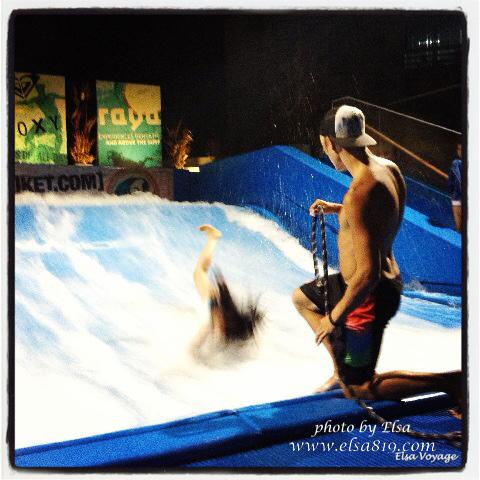 【泰國普吉島】。卡塔海灘-令人超興奮的Surf House衝浪機