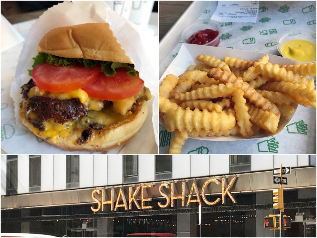 【紐約自由行】Day2 (中) 紐約美食必吃漢堡Shake Shack劇院區分店(Theater District)、內含2017最新菜單與分店查詢資訊