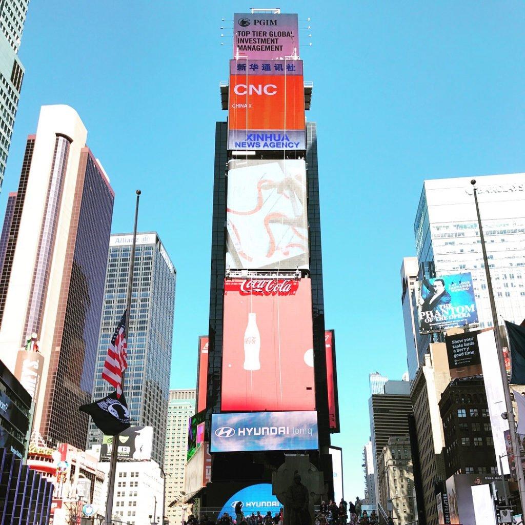 【紐約自由行】Day2 (上) 時報廣場、迪士尼商店、玩具反斗城